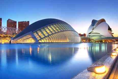 Sercotel Acteon Valencia - Four Star Modern Design Nearby the Port for two - Save 60%