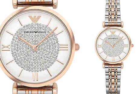 AW Watches - Ladies Emporio Armani AR1926 Watch - Save 72%
