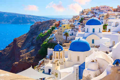 Via Holiday - Four nights Santorini stay with breakfast and flights - Save 21%