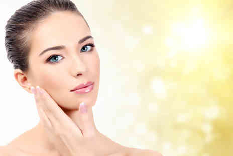 The Acculaser Medispa - Acne peel treatment with an anti stress mask and acne shield serum - Save 75%