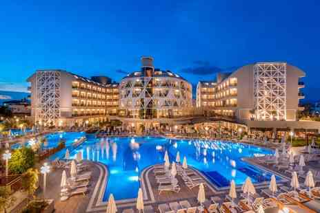 Bargain Late Holidays - Five Star Escape with a 7, 10 or 14 nights all inclusive Turkey getaway Now with the ability to choose your flight - Save 0%
