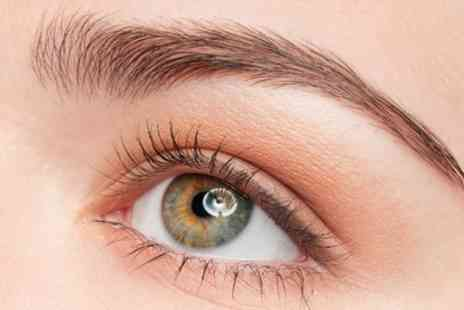 Bee Beautiful - 3D Semi Permanent Eyelashes with Optional Eyebrow Wax and Tint  - Save 37%