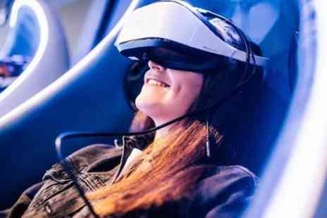 MeetspaceVR - 20 Minute VR or Racing Simulator Experience for Up to Three - Save 40%