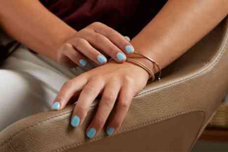 Uroojs Hair Beauty - Shellac Polish on Hands or Feet or Both - Save 45%