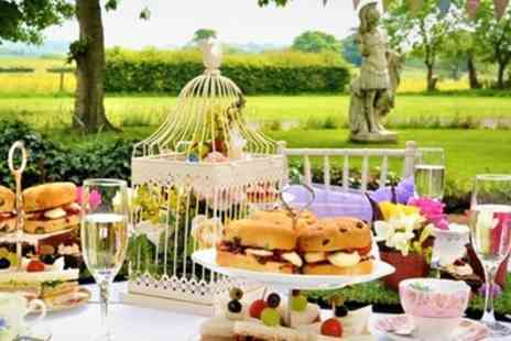 The Wroxeter Hotel - English Garden Afternoon Tea for Two or Four - Save 52%