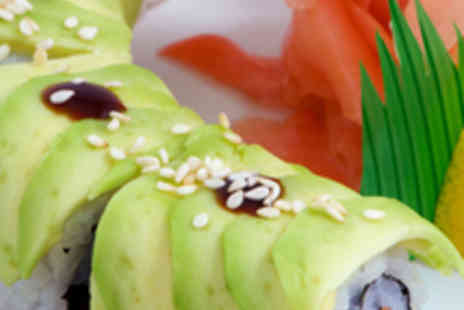 Samsi - Four Course Japanese Meal for Two with Jug of Sake - Save 54%