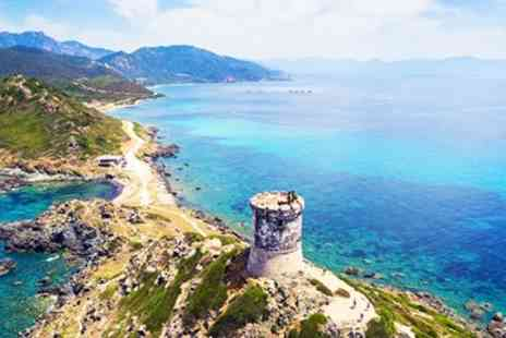 Air Corsica - Return flights to Ajaccio inc checked baggage - Save 0%