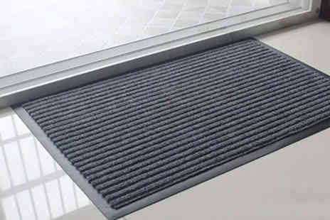 Backtogoo - Non slip doormat choose from three colours and sizes - Save 77%