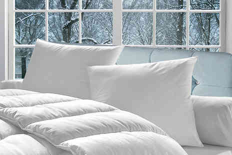 Direct Warehouse - Single super bounce back winter duvet 15 tog, double, king size or Super king - Save 80%