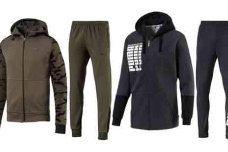 Groupon Goods Global GmbH - Puma Rebel Bold or Modern Sports Pants or Hoodie - Save 17%