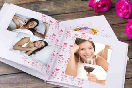 Colorland - One or Two Personalised Hardcover Photobooks with Up to 80 Pages - Save 76%