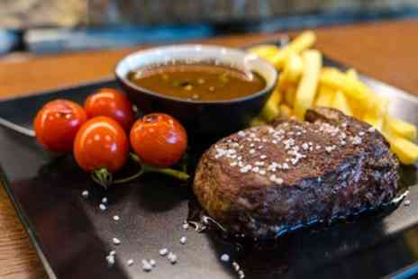 Langostinos Brasserie - Choice of Steak with Wine or Beer for Up to Four - Save 49%