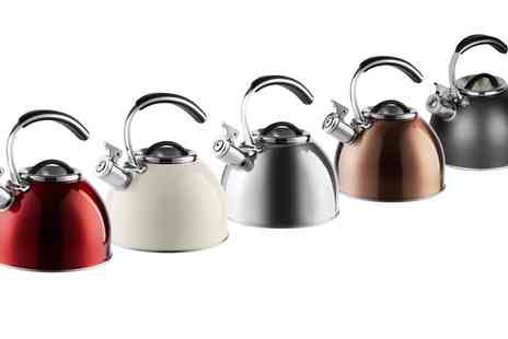 Groupon Goods Global GmbH - Morphy Richards Stove Top Whistling Kettle - Save 10%