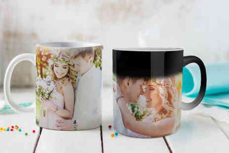 Photo Gifts - Personalised photo mug choose from four designs - Save 88%