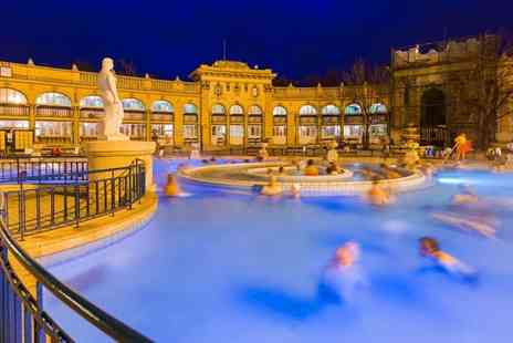 Bargain Late Holidays - Four Star Escape on a two or three nights Budapest stay with breakfast, Szechenyi Spa entrance and return flights - Save 0%