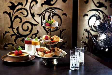 Mamounia Lounge - Arabian afternoon tea for two people with a glass of Champagne each - Save 50%