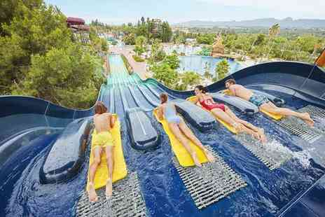 Weekender Breaks - Four Star Three nights half board PortAventura, Spain hotel stay with unlimited park entry, one time Ferrari World entry, flights and more - Save 31%