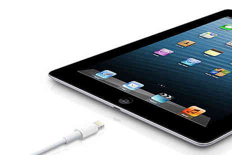Laptop King - Apple iPad 4 With 16Gb And Leather Case With Free Delivery - Save 80%