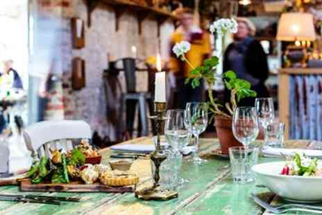 Pythouse Kitchen Garden - Lunch for Two at delightful Wiltshire restaurant - Save 46%