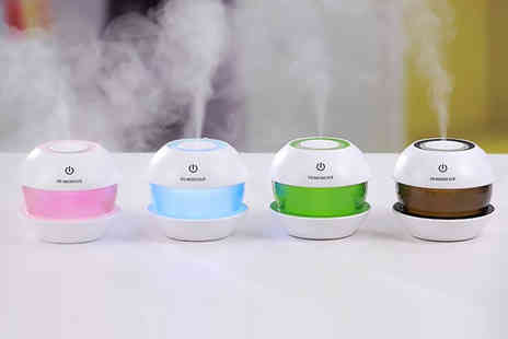 Wow What Who - Air purifier and humidifier choose from four colours - Save 69%