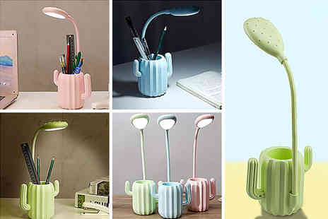Magic Trend - Led cactus light pen holder - Save 67%