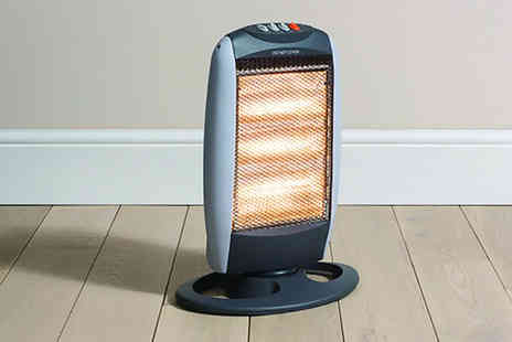 Awan - Daewoo 1200W oscillating halogen heater - Save 35%