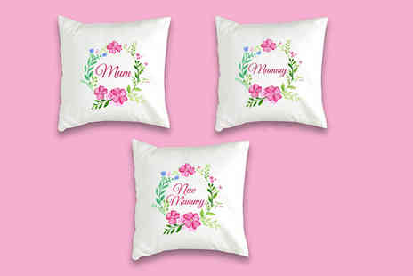 We Personalize - Mothers Day personalised cushion cover - Save 41%