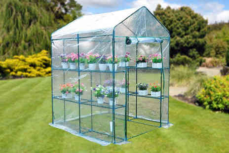 Vivo Mounts - 8 tier large greenhouse - Save 53%