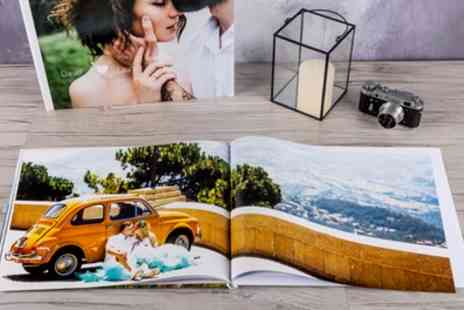 Colorland - One or Two Extra Large A3 Personalised Hardcover Photobooks with Up to 60 Pages - Save 69%