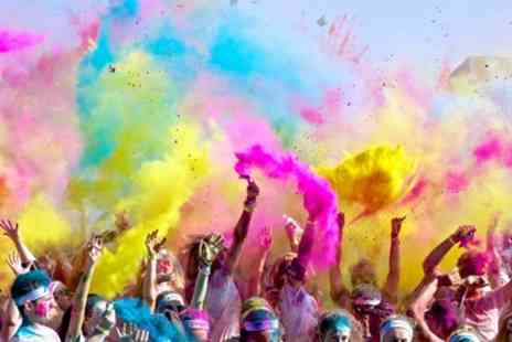 Run or Dye 2019 - One early bird ticket to 3.5K or 5K Run or Dye race on 30 June - Save 24%