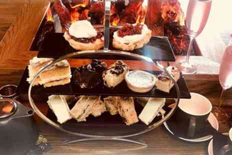 Pavilion Bar and Kitchen - Afternoon Tea for Two or Four with Optional Glass of Bubbles - Save 35%