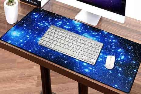 Groupon Goods Global GmbH - One or Two Large Anti Slip Keyboard Mats for PC Computer Desk - Save 58%