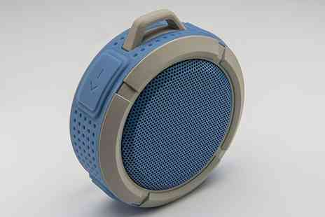Groupon Goods Global GmbH - One or Two Goodmans GDWPBTSPKG Bluetooth Waterproof Speakers - Save 0%