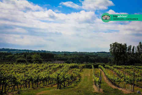 Carr Taylor Vineyard - Vineyard tour with tasting and unlimited cream tea for two - Save 50%