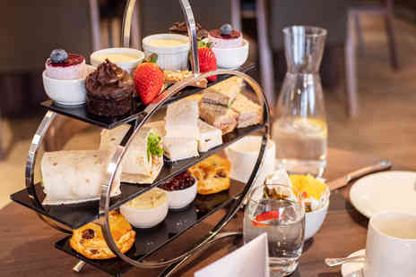 AC Hotel Birmingham - Classic afternoon tea for two people with a glass of cava each - Save 44%
