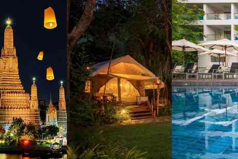 Nouvo City Hotel - Four Star Local Culture, Glamping and Stunning Beaches of Thailand - Save 0%