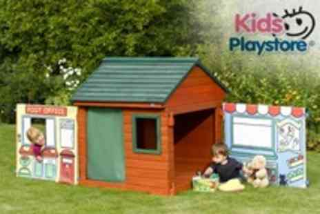 Kids Playstore.com - Role Play Wooden Outdoor Play House - Save 53%