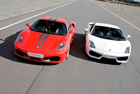 Drivers Dream Days - Junior supercar driving experience in one car - Save 34%