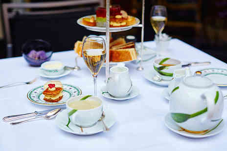 Jules Verne - French themed afternoon tea with a glass of Prosecco each for two - Save 52%