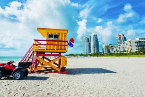Away Holidays - Five star Miami beach holiday with flights - Save 0%