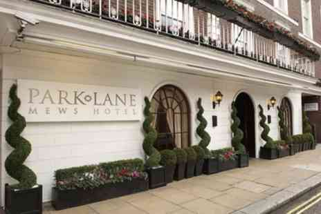 Park Lane Mews Hotel - Double or Deluxe King Room for Two with Option for Breakfast - Save 33%