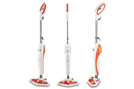 Groupon Goods Global GmbH - Polti Vaporetto Steam Mop with Vaporforce Brush With Free Delivery - Save 0%
