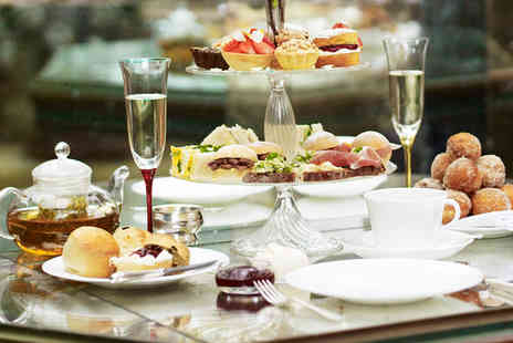 The Petersham - Afternoon Tea and Cocktail for Two with Flower Posey - Save 0%