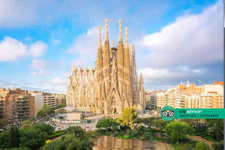 Bargain Late Holidays - Escape with a two or three nights Barcelona getaway Now with the option to choose your flight - Save 0%