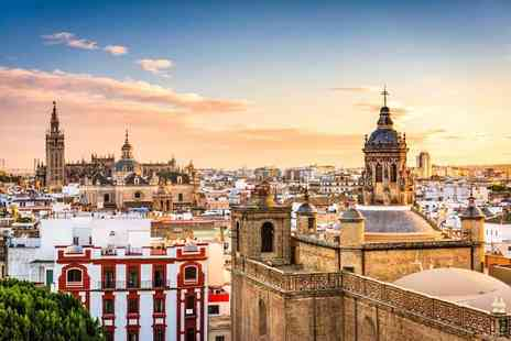 Travel Center - Two nights Seville holiday with return flights - Save 54%