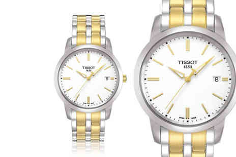 Best Watch Company - Swiss made Tissot Class Dream mens watch - Save 58%