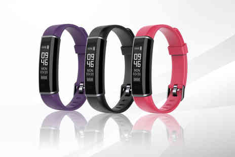hey4beauty - ID130 fitness tracker with Hr monitor - Save 81%