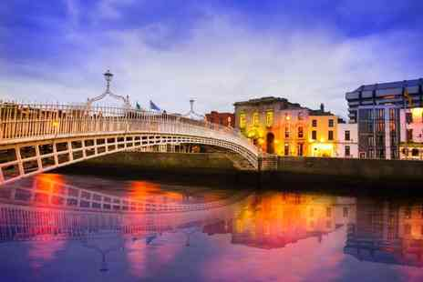 Bargain Late Holidays - Escape with a two or three nights getaway to Dublin with Guinness tour now with the option to choose your flight - Save 0%
