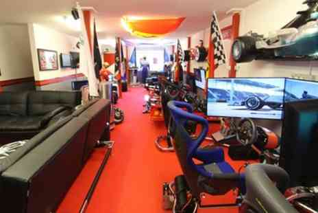 The Race Cave - Ferrari Driving Simulator Experience for Five - Save 34%