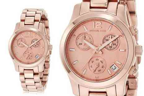 Direct E Trade - Michael Kors MK5430 chronograph rose gold toned watch - Save 60%